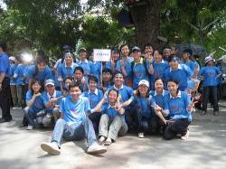 clb195 tham gia chương trình Hà Nội xanh